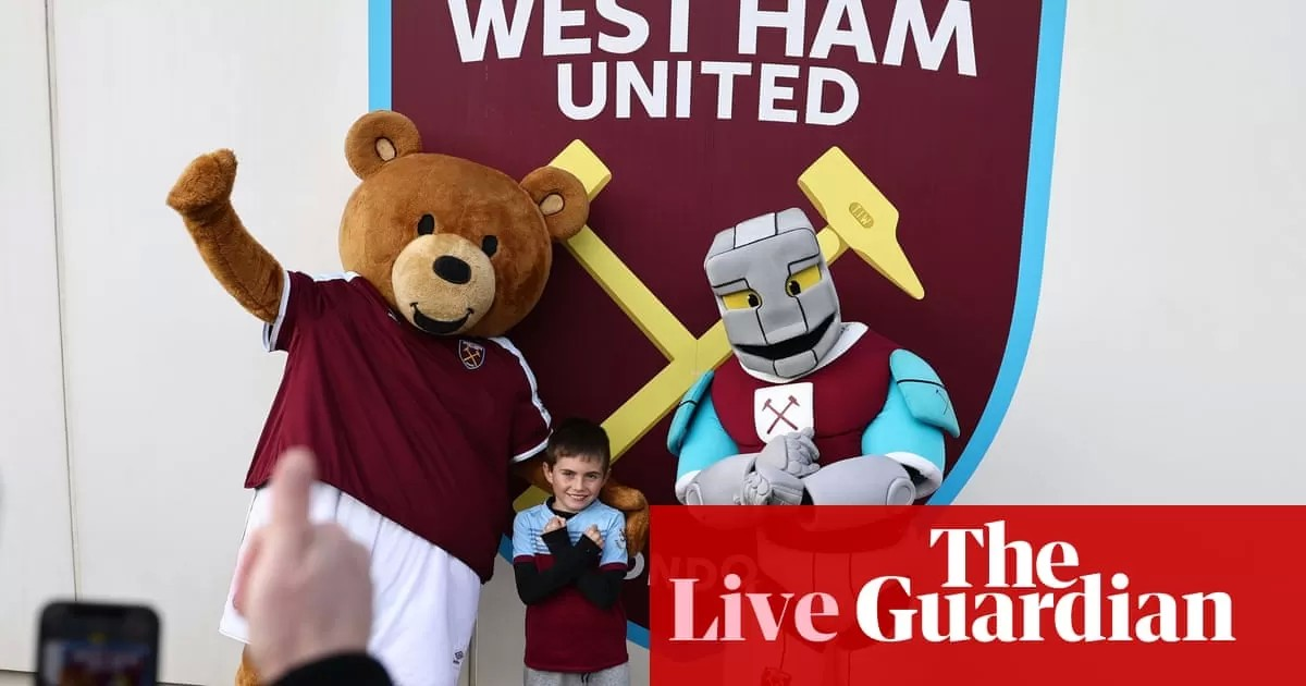 West Ham v Tottenham: Premier League – live!