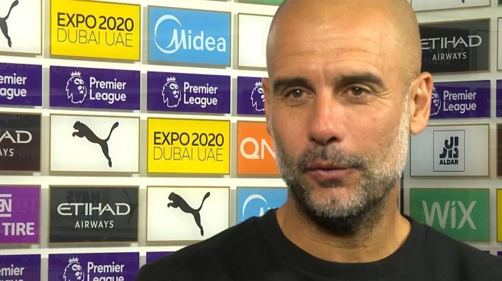 Manchester City 2-0 Burnley: Good to get win after international break - Pep Guardiola