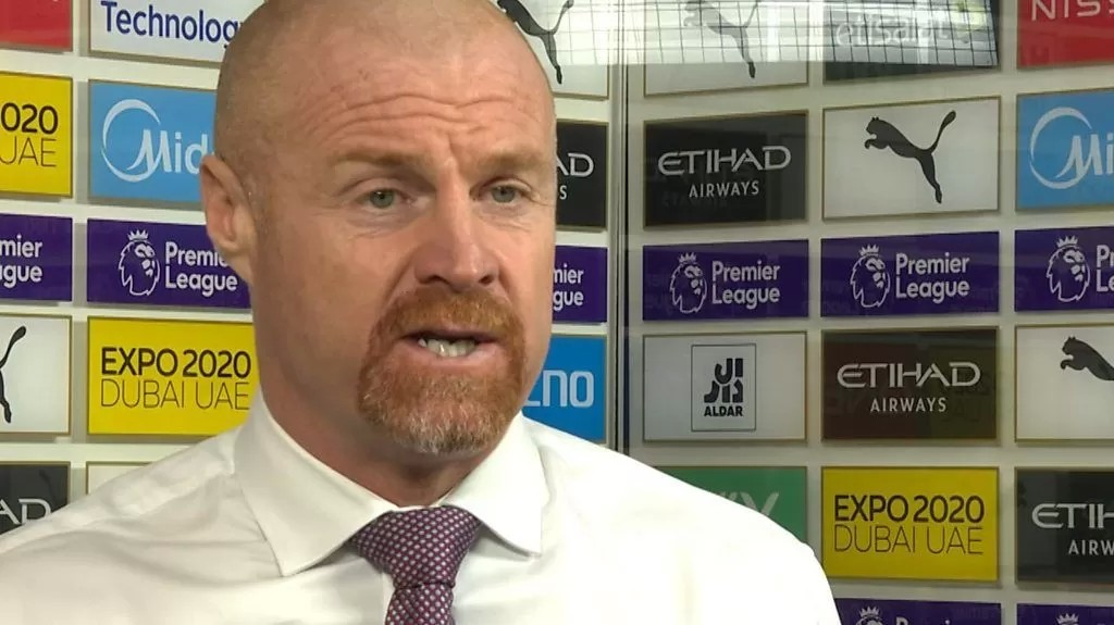 Manchester City 2-0 Burnley: Sean Dyche says Clarets would take a 'scruffy win'