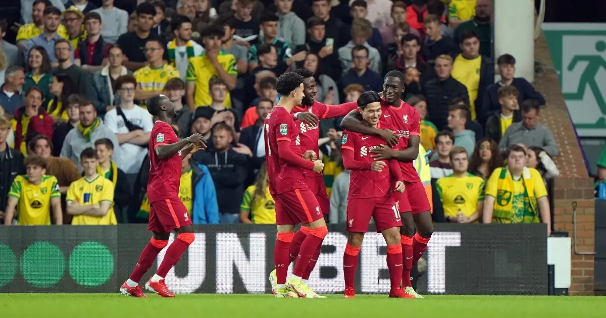 Norwich 0-3 Liverpool: Minamino piles misery on Canaries