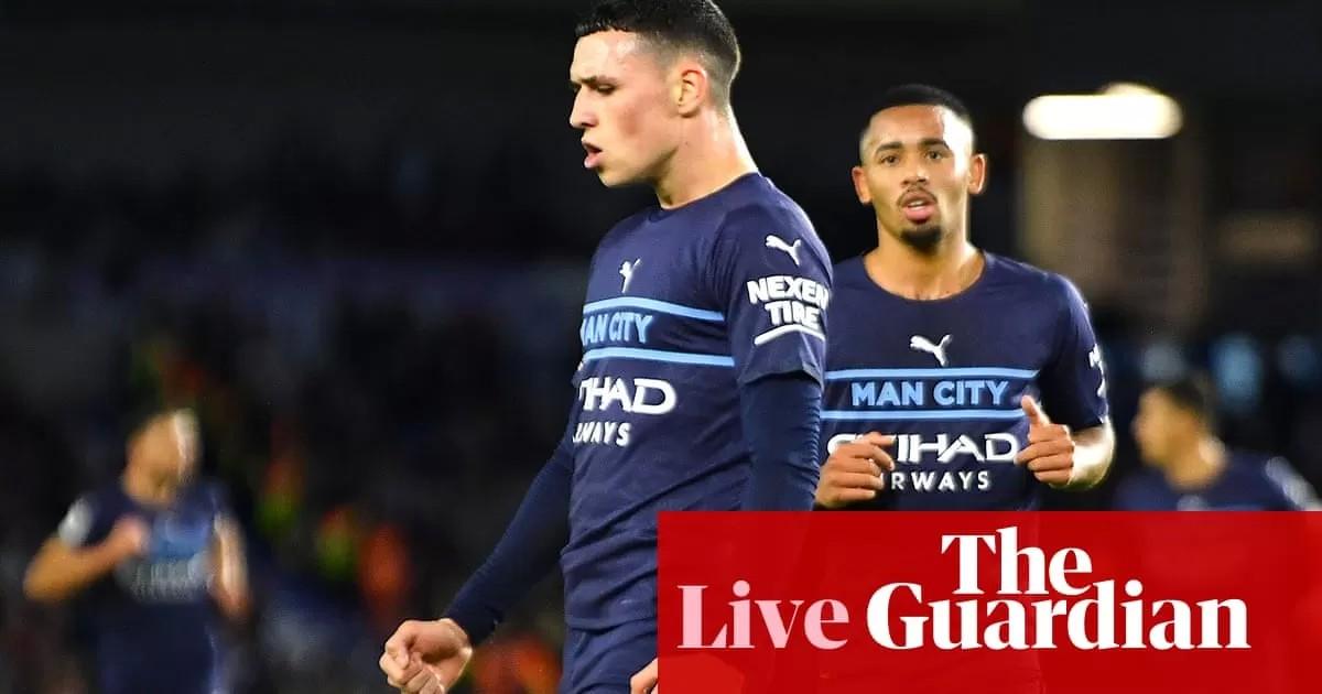 Brighton 1-4 Manchester City: Premier League – live reaction!