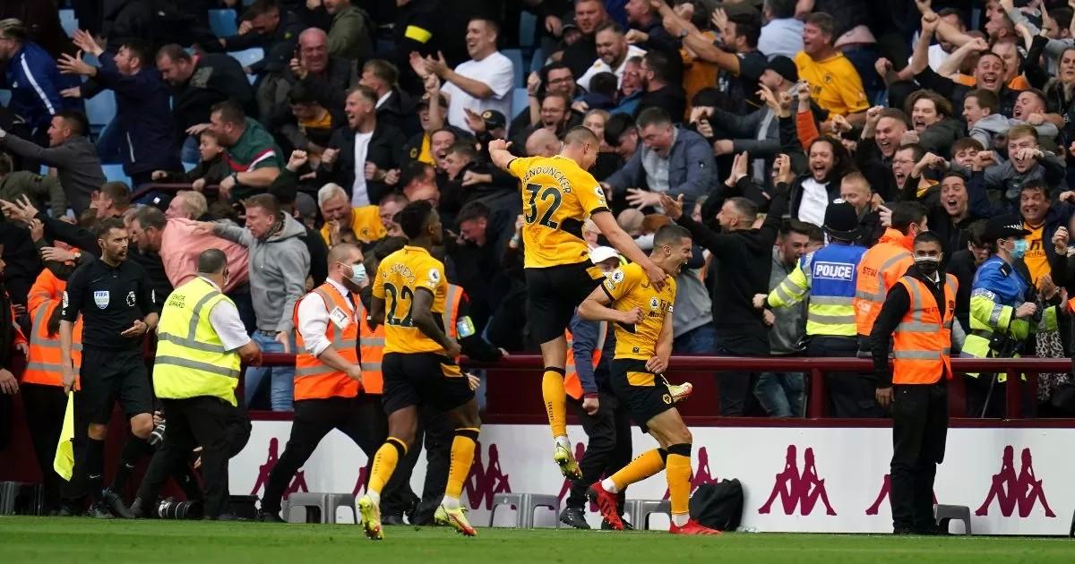 Aston Villa 2-3 Wolves: Lage's side complete late comeback