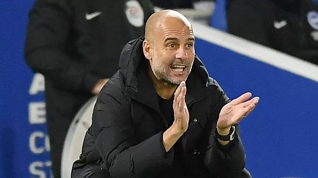Brighton 1-4 Manchester City: If City don't have the ball, we suffer - Pep Guardiola