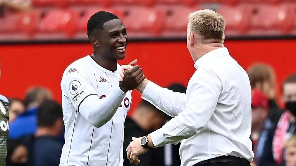 Man Utd 0-1 Aston Villa: Dean Smith pleased with 'aggressive' and 'brave' display