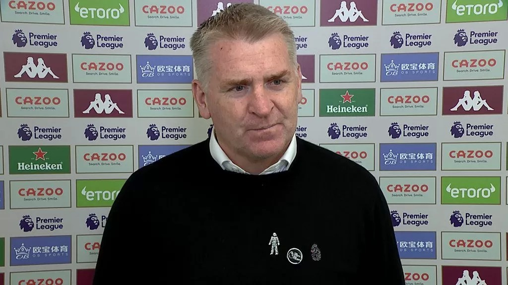 Aston Villa 2-3 Wolves: Dean Smith says late defeat 'painful to take'