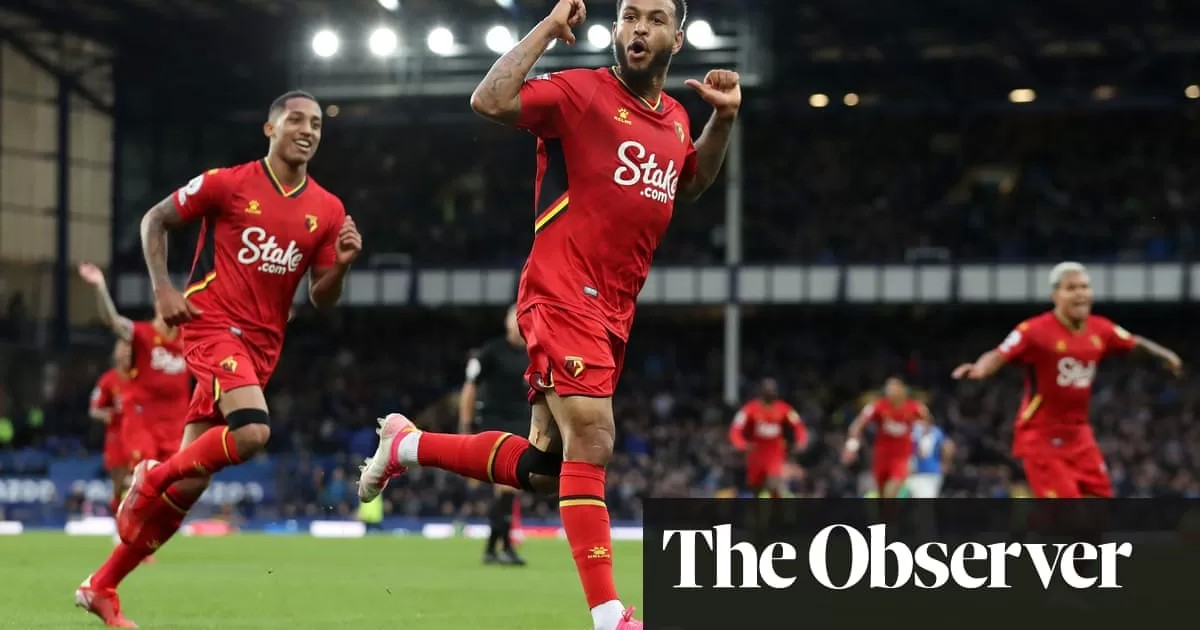 Watford's Joshua King stuns Everton with hat-trick in 5-2 comeback win