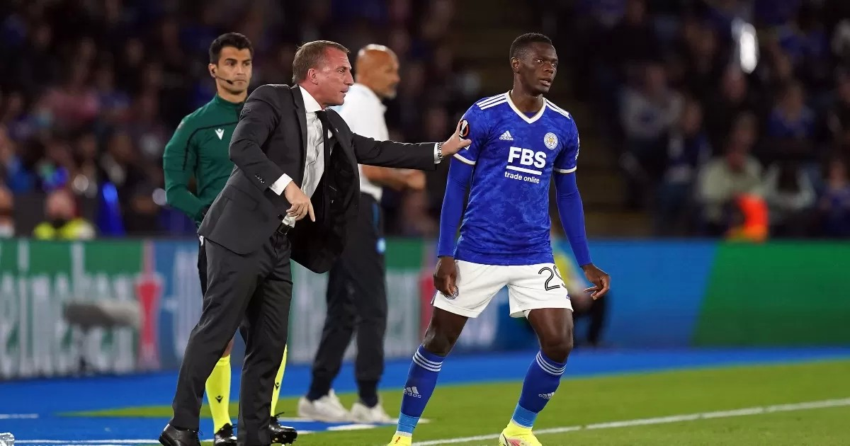 Rodgers backs Daka to prove PL quality after four-goal midweek heroics